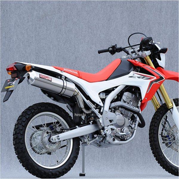 ヤマモトレーシング スリップオンマフラー 12年 CRF250L オーバル 触媒付き チタン 10263-01NOA HD