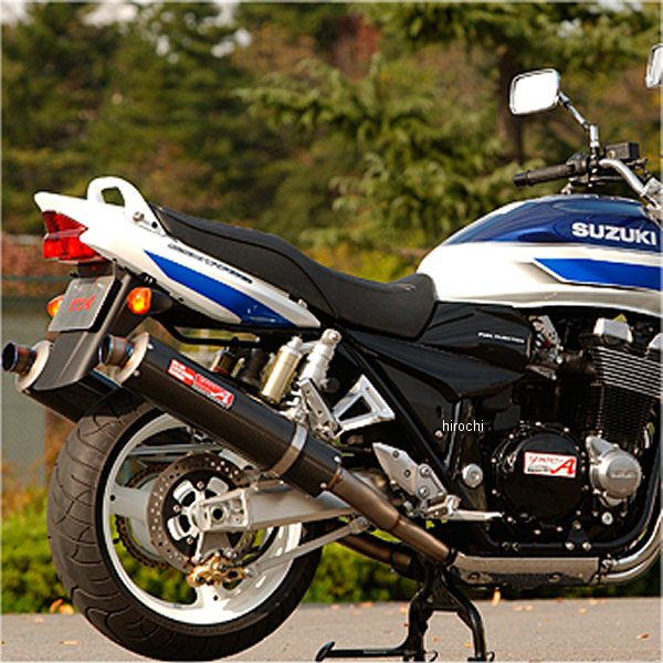 ヤマモトレーシング スリップオンマフラー 04年以前 GSX1400 デュアル カーボン 31400-02NCN HD
