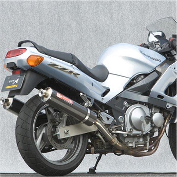 ヤマモトレーシング スリップオンマフラー 05年以前 ZZR400 デュアル カーボン 触媒付き 40405-02NCB HD