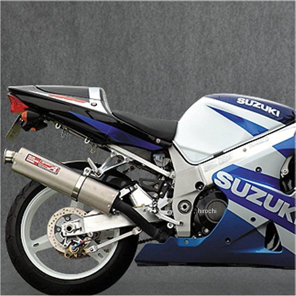 ヤマモトレーシング スリップオンマフラー 01年-04年 GSX-R1000 DOWNタイプ オーバル チタン 31000-01DOB HD