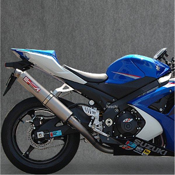 ヤマモトレーシング スリップオンマフラー 07年-08年 GSX-R1000 スポーツエジオン UPタイプ チタン 31003-01TTR HD