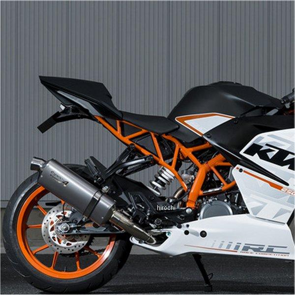 ヤマモトレーシング スリップオンマフラー ステンレス KTM 15年 RC250 スペックA TYPE-S 触媒付き 50250-01NSN HD