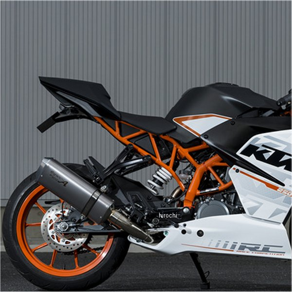 ヤマモトレーシング スリップオンマフラー ステンレス KTM 15年 RC250 スペックA TYPE-SA 触媒付き 50250-01NSA HD