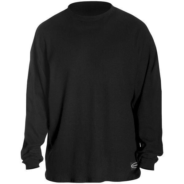 【超ポイント祭?期間限定】 シャンパ HD店 Schampa 黒 サーマルシャツ Fleece-Lined 黒 Schampa LG 501238 HD店, ヒタチシ:fed44826 --- kanvasma.com