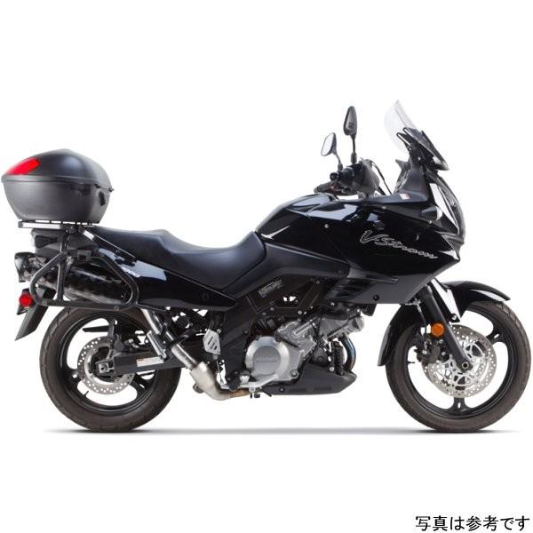 ツーブラザーズレーシング スリップオンマフラー ブラックシリーズ M-2 デュアル 02年-13年 Vストローム アルミ 005-480406DM-B HD店