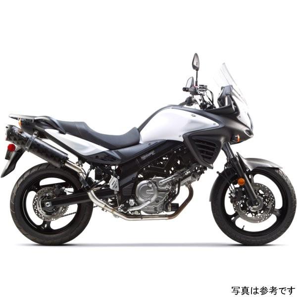 ツーブラザーズレーシング フルエキゾースト ブラックシリーズ M-2 12年以降 Vストローム650 アルミ 005-3620106V-B HD店