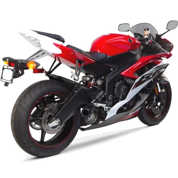 ツーブラザーズレーシング フルエキゾースト S1R ブラック 08年以降 YZF-R6 カーボン 005-4060107-S1B HD店