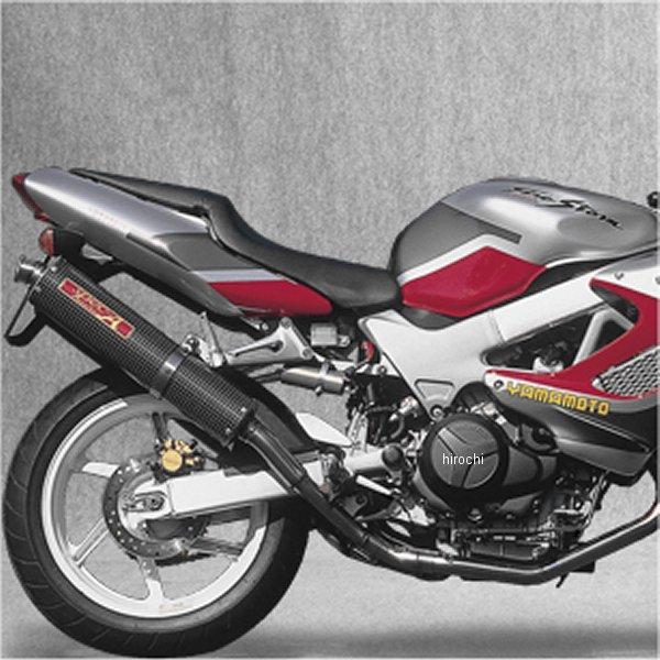 ヤマモトレーシング フルエキゾースト VTR1000F 2-1-2 カーボン 11002-52SCB HD