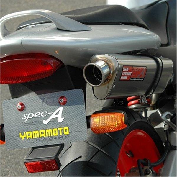 ヤマモトレーシング フルエキゾースト ホーネット250 4-1 TYPE-S チタン 触媒無し 10259-11STN HD