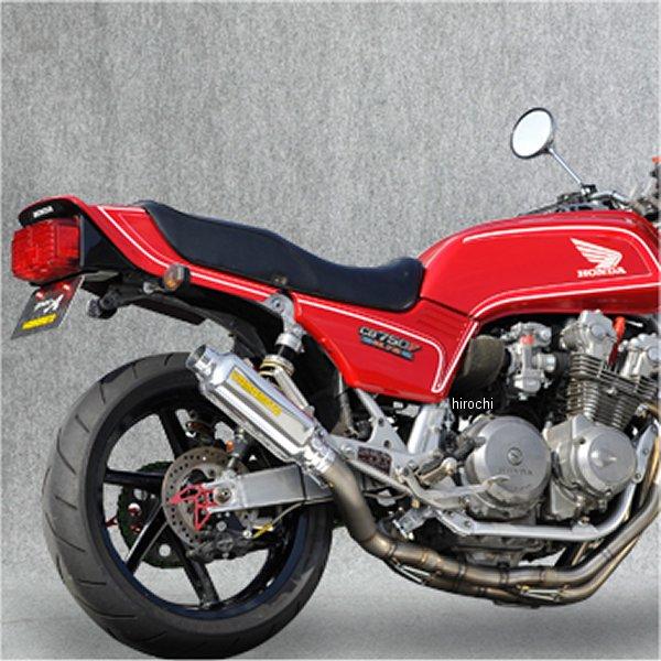ヤマモトレーシング フルエキゾースト CB750F FA-FB 4-2-1 80S TYPE-II アルミプレス レース用 10751-21TAR HD