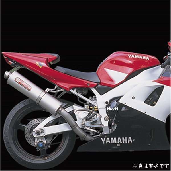 ヤマモトレーシング スリップオンマフラー 02年-03年 YZF-R1 チタン 21005-01NTB HD