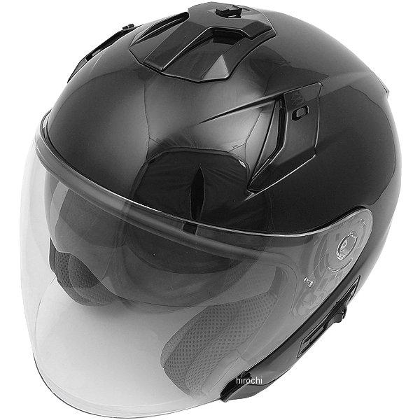 FH003 山城 フィオーレ FIORE TURISMO ジェットヘルメット 黒 Mサイズ 4547544044511 HD店