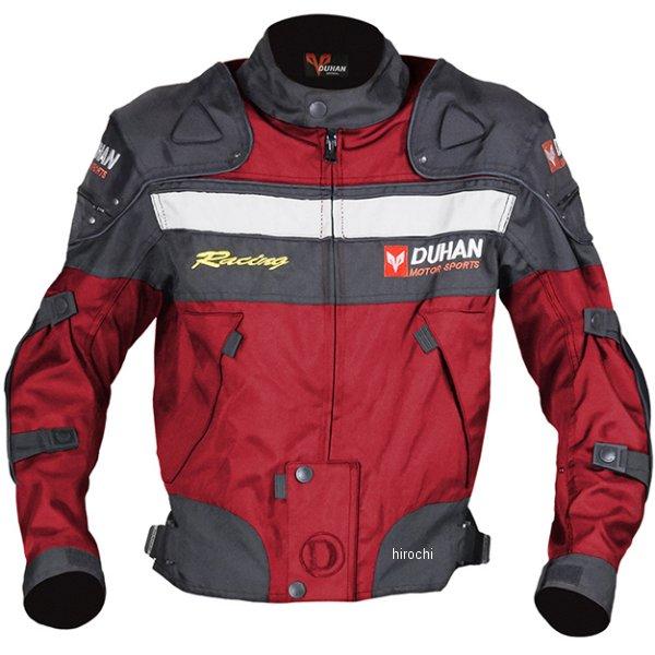 【メーカー在庫あり】 NBS バイクパーツセンター DUHAN ウィンタージャケット 赤 XLサイズ 905428 HD店