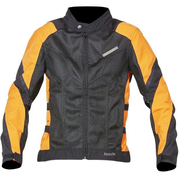 【メーカー在庫あり】 NBS バイクパーツセンター DUHAN ライダースメッシュジャケット 黒×オレンジ XLサイズ 905465 HD店