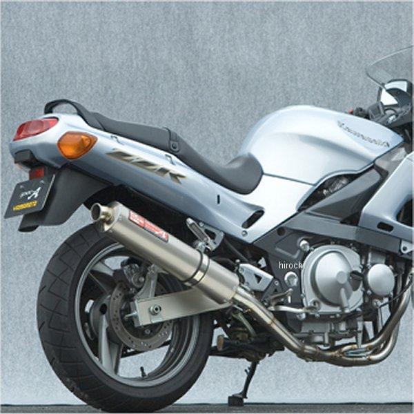 ヤマモトレーシング フルエキゾースト 05年以前 ZZR400 4-2-1 チタン 40403-21STB HD