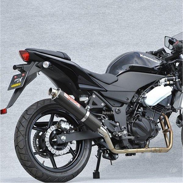 ヤマモトレーシング フルエキゾースト 08年-12年 ニンジャ250R 2-1 UPタイプ カーボン レース用 40251-61SCR HD