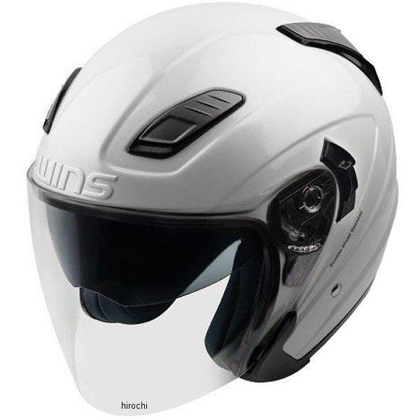 【メーカー在庫あり】 ウインズ WINS ジェットヘルメット SHADE パールホワイト M/Lサイズ 4560385766947 HD店