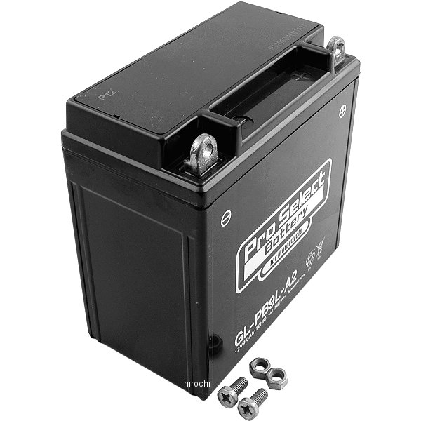 【メーカー在庫あり】 プロセレクト PROSELECT バイク用 バッテリー ジェルタイプ GL-PB9L-A2 YB9L-A2互換 (液入り充電済み) PSB127 HD店