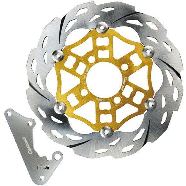オプティマム Optimum ディスクローター 260mm PCX125 JF28 ゴールド OP11222 HD店