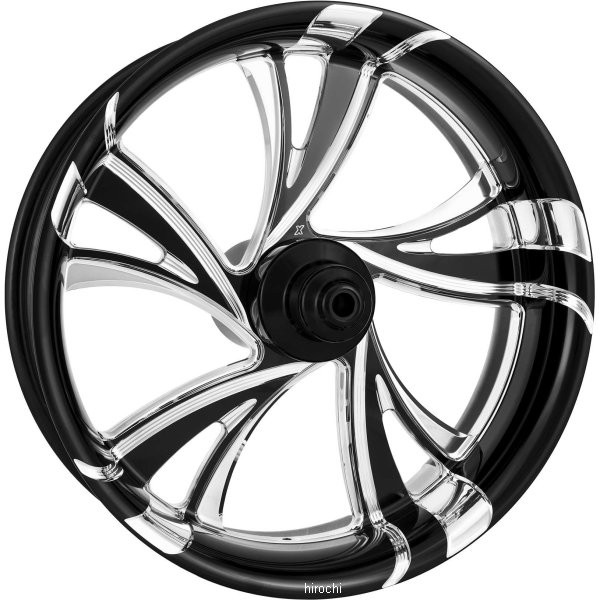 【USA在庫あり】 エクストリームマシン フロントホイール 21インチx2.15インチ クルーズ 黒 Xquisite 12年以降 FXDWG ABS付き 678885 HD