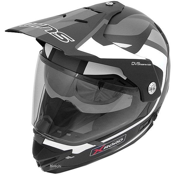 【メーカー在庫あり】 ウインズ WINS オフロードヘルメット X-ROAD FREE RIDE マットブラック/白 Lサイズ(58-59cm) 4560385765414 HD