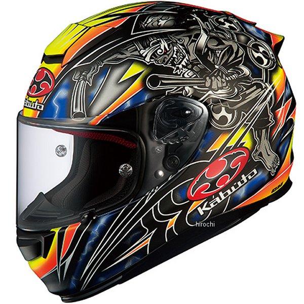 オージーケーカブト OGK KABUTO フルフェイスヘルメット RT-33 AKIYOSHI フラットブラックイエロー Mサイズ 4966094567149 HD店