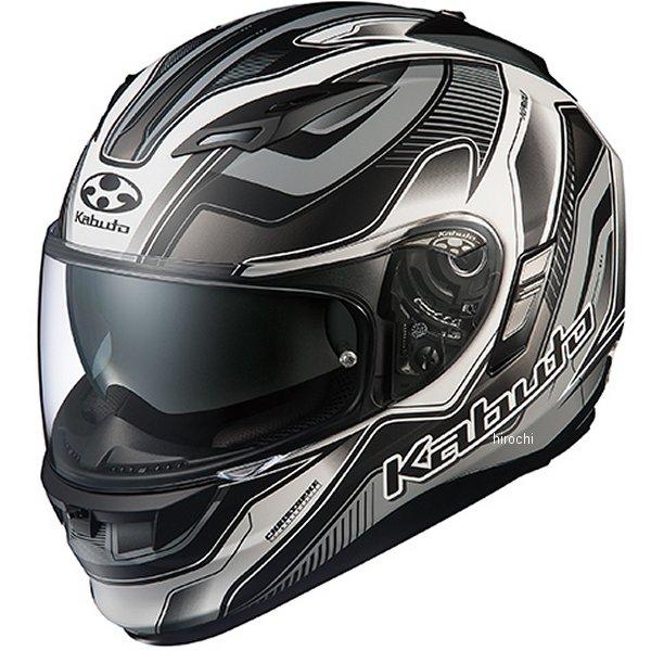 オージーケーカブト OGK KABUTO フルフェイスヘルメット KAMUI 2 HAMMER フラットブラックシルバー Mサイズ 4966094569235 HD店