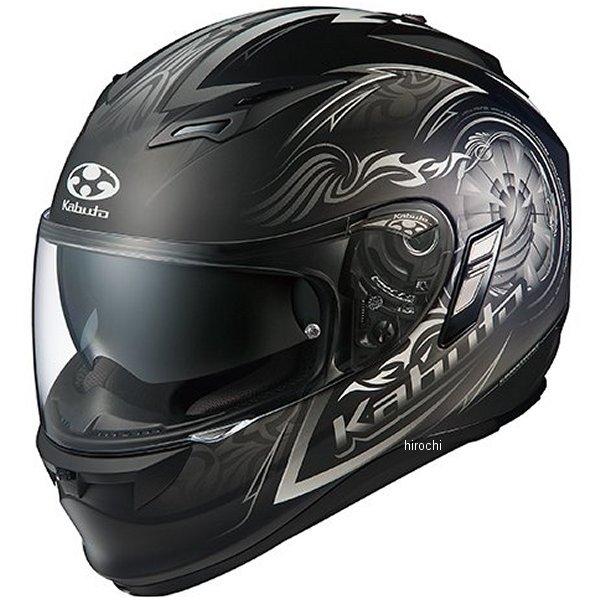 オージーケーカブト OGK KABUTO フルフェイスヘルメット KAMUI 2 BLAZE フラットブラックシルバー XLサイズ 4966094569402 HD店
