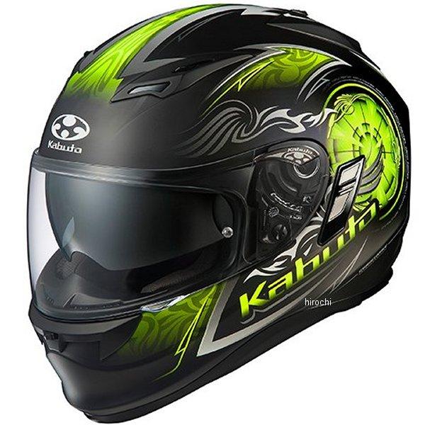【メーカー在庫あり】 オージーケーカブト OGK KABUTO フルフェイスヘルメット KAMUI 2 BLAZE フラットブラックイエロー Lサイズ 4966094569440 HD店