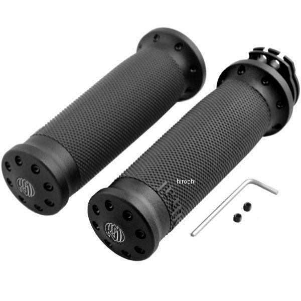 【USA在庫あり】 ローランドサンズデザイン RSD グリップ トラッカー 黒つや消し 左右ペア RD3075 HD