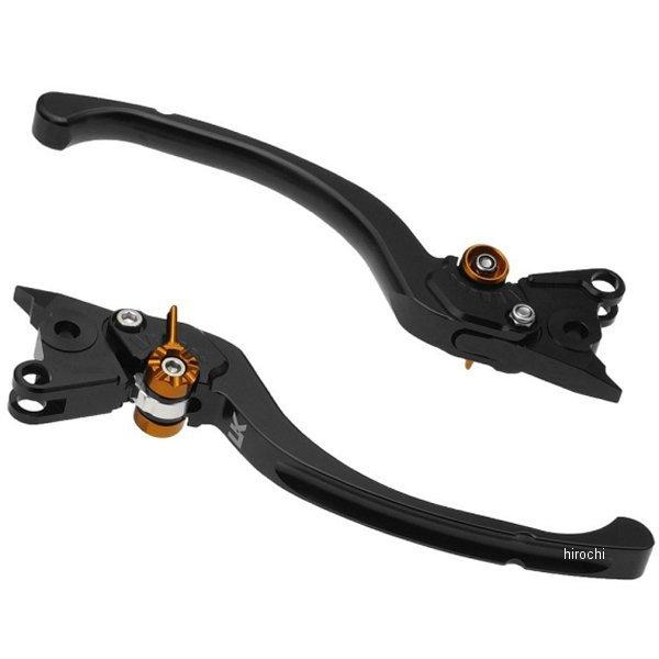 【メーカー在庫あり】 ユーカナヤ U-KANAYA ビレットレバーセット ツーリングタイプ KTM 1290スーパーアドベンチャー 黒 KT013-091-0801 HD店