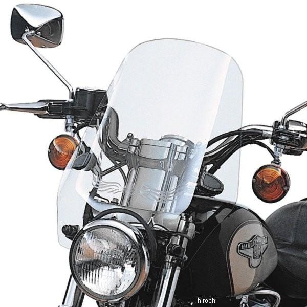【USA在庫あり】 ハーレー純正 スポーツ・ウインドシールド・キット 88年以降 XL、FXD ライトスモーク 58192-87A HD店