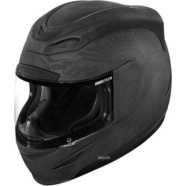 【USA在庫あり】 アイコン ICON フルフェイスヘルメット Airmada Scrawl 黒 Sサイズ 0101-10061 HD店