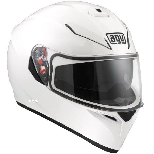 エージーブイ AGV フルフェイスヘルメット K-3 SV SOLID メタリックホワイト Lサイズ (59-60cm) 8026656506675 HD店