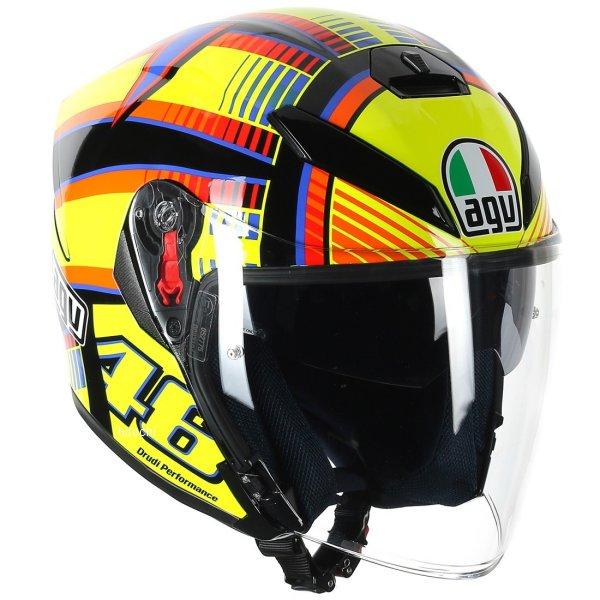 エージーブイ AGV ジェットヘルメット K-5 JET TOP SOLELUNA Mサイズ(57-58cm) 113190G0-001-M HD店