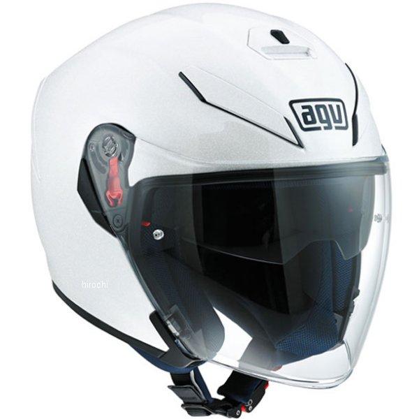 エージーブイ AGV ジェットヘルメット K-5 JET SOLID パールホワイト Mサイズ(57-58cm) 113194G0-001-M HD店