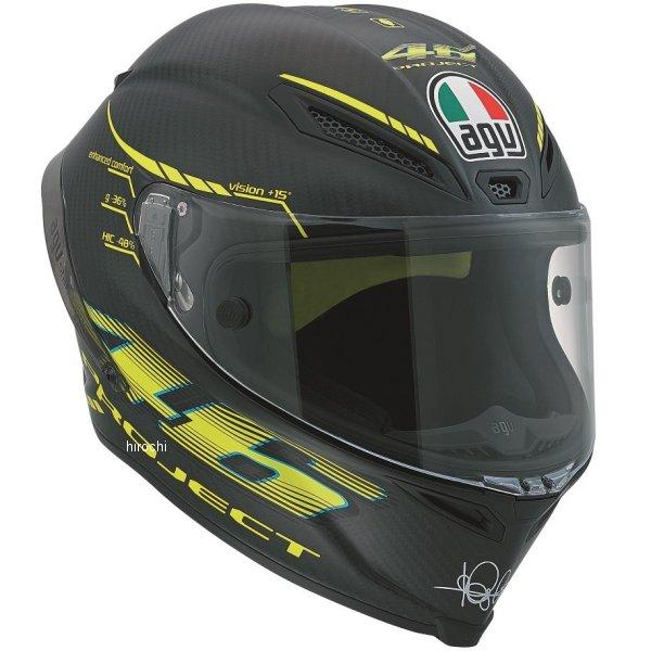 エージーブイ AGV フルフェイスヘルメット PISTA GP PROJECT46 2 CARBON カーボンマット Mサイズ (57-58cm) 600190GF-001-M HD店
