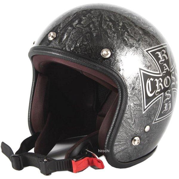 ナナニージャム 72JAM ジェットヘルメット カスタムペイントJAM RASH CROSS シルバー フリーサイズ(57-60cm未満) JCP-12 HD店