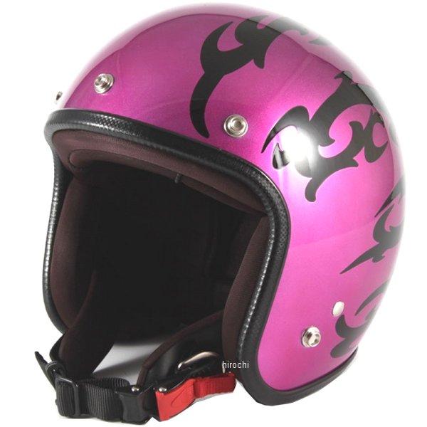 ナナニージャム 72JAM ジェットヘルメット カスタムペイントJAM TRIBAL パープル フリーサイズ(57-60cm未満) JCP-24 HD店