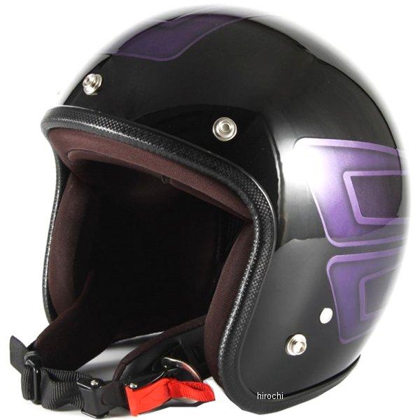 ナナニージャム 72JAM ジェットヘルメット カスタムペイントJAM SCALLOP パープル フリーサイズ(57-60cm未満) JCP-33 HD店