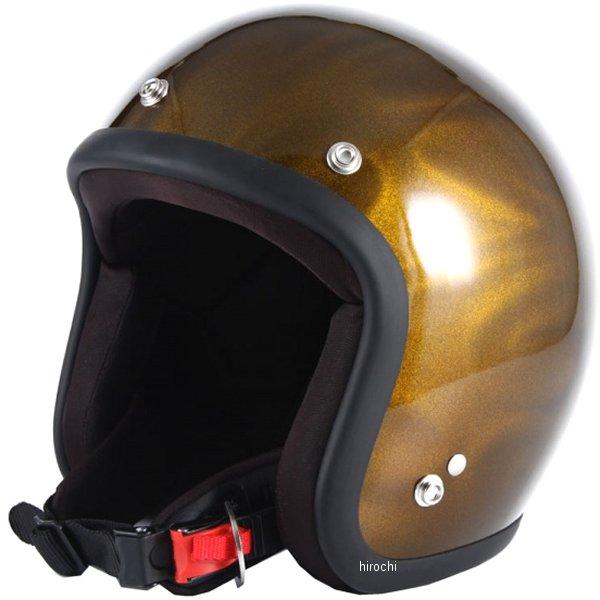 ナナニージャム 72JAM ジェットヘルメット 3D GHOST TRIBAL ゴールド フリーサイズ(57-60cm未満) JG-18 HD店