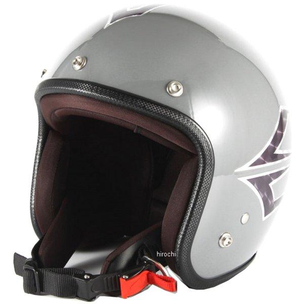 ナナニージャム 72JAM ジェットヘルメット カスタムペイントJAM SPINDLE アイリッシュグレー フリーサイズ(57-60cm未満) JCP-38 HD店