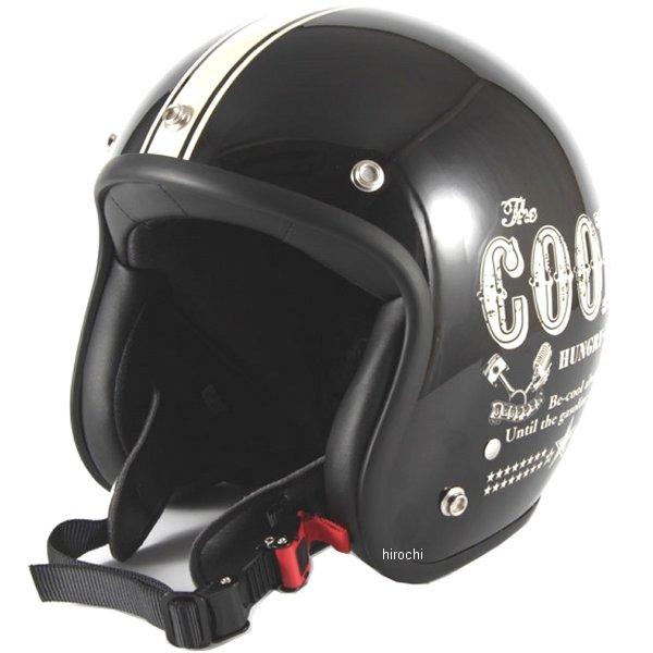 ナナニージャム 72JAM ジェットヘルメット COOLS HUNGRY MAN 黒 フリーサイズ(57-60cm未満) HM-01 HD店