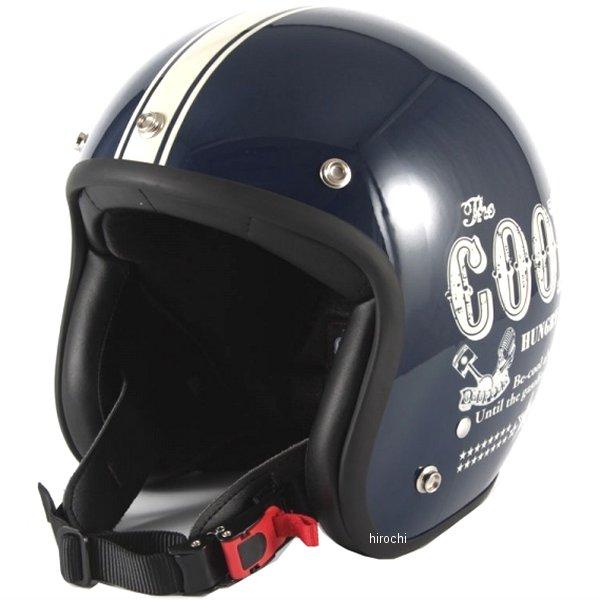 ナナニージャム 72JAM ジェットヘルメット COOLS HUNGRY MAN ネイビー XLサイズ(60-62cm未満) HM-02L HD店
