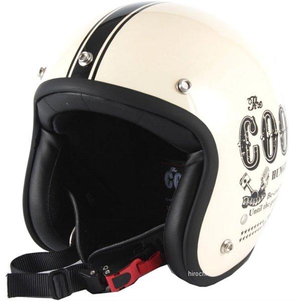 ナナニージャム 72JAM ジェットヘルメット COOLS HUNGRY MAN アイボリー XLサイズ(60-62cm未満) HM-03L HD店