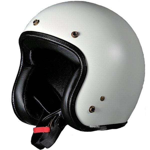ナナニージャム 72JAM ジェットヘルメット CHIC クールホワイト フリーサイズ(57-60cm未満) CH-01 HD店