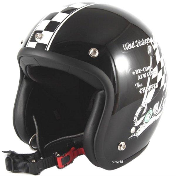 ナナニージャム 72JAM ジェットヘルメット COOLS WIND DIALOGER 黒 XLサイズ(60-62cm未満) HMW-05 HD店