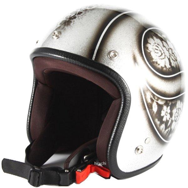ナナニージャム 72JAM ジェットヘルメット ROSA シルバー 女性用サイズ(55-57cm未満) JCP-52 HD店