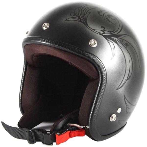ナナニージャム 72JAM ジェットヘルメット LEAF シルバー/黒 女性用サイズ(55-57cm未満) JCP-55 HD店
