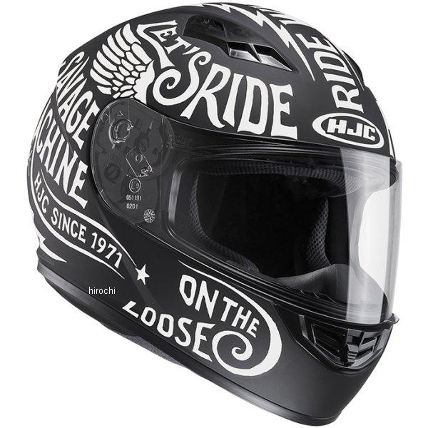 【メーカー在庫あり】 エイチジェイシー HJC フルフェイスヘルメット CS-15 レブル 白 Mサイズ(57-58cm) HJH117WH01M HD店